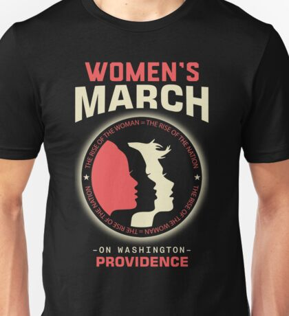 Women's March PROVIDENCE Unisex T-Shirt