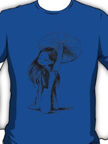 Girl under the mushroom T-Shirt