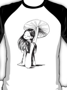 Girl under the mushroom T-Shirt