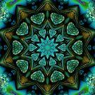 Kaleidoscope in Green  by fantasytripp