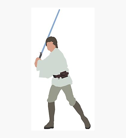 Luke Skywalker Photographic Print