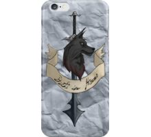 Death in Honor iPhone Case/Skin