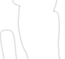 Chevy Chase Caddy Shack Golf  Sticker
