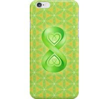 The Infinite Flowering Of Life iPhone Case/Skin