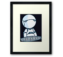 I'm a personality prototype Framed Print