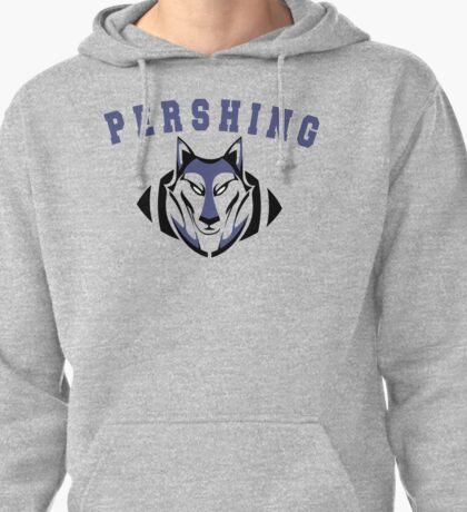 Homer's Pershing High Football Pullover Hoodie