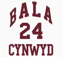 Kobe Bryant 24 Bala Cynwyd Middle School Basketball Jersey  by hanelyn