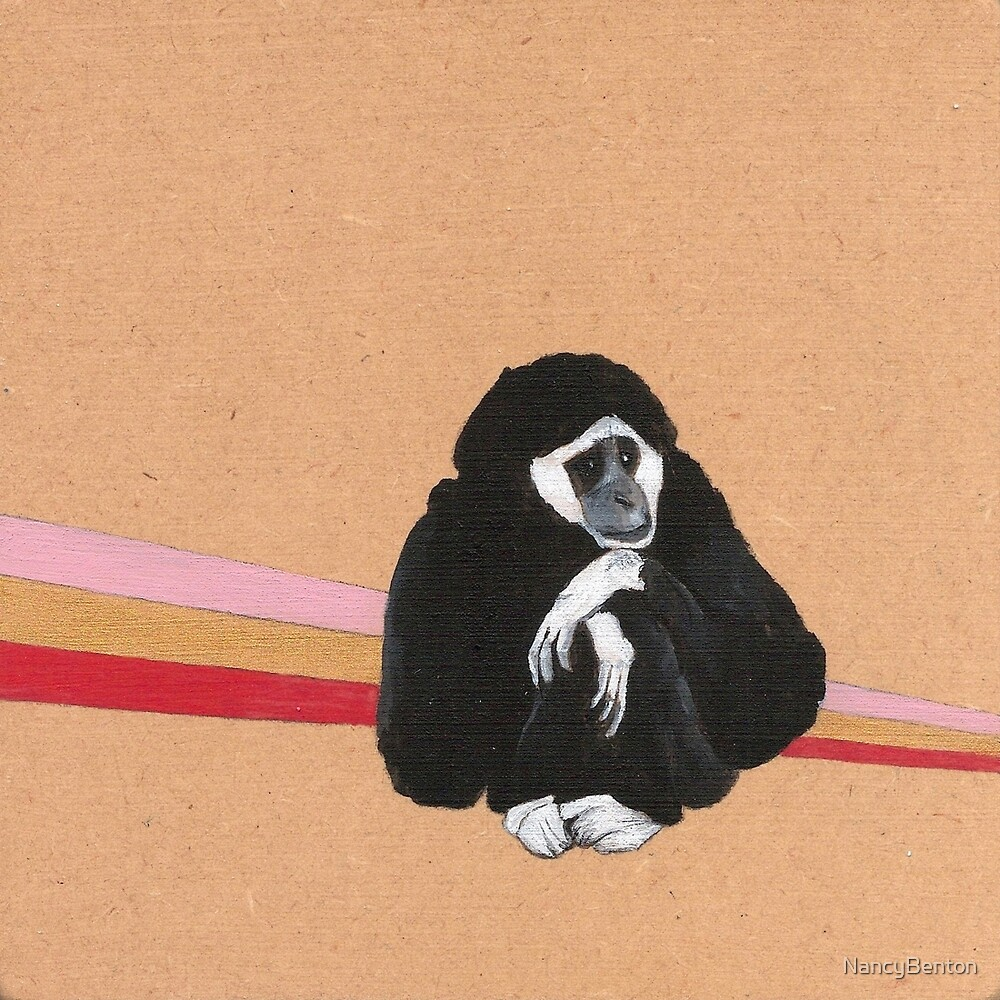 Gibbon by NancyBenton