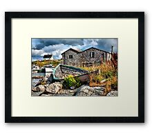 The Old Dory Framed Print