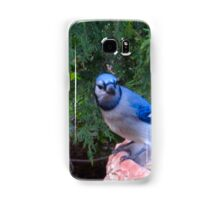 Blue Jays and Peanuts, in the garden and the game! Samsung Galaxy Case/Skin