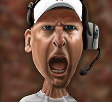 Husker's Football Coach Bo Pelini by Ian Moreland