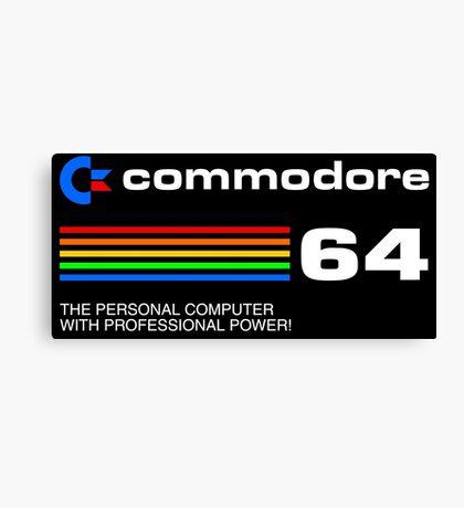 Commodore 64 - personal computer Canvas Print