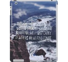 Emerson: Beautiful iPad Case/Skin
