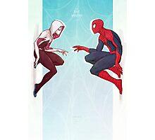 Spider Love Photographic Print