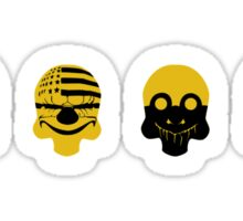 Payday 2 Skulls  Sticker