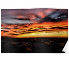 Sunrise At Burns Oregon Poster
