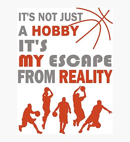 Basketball Hobby Reality Photographic Print