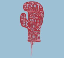 Boxing Glove Typography - the Fight of the Century Kids Clothes