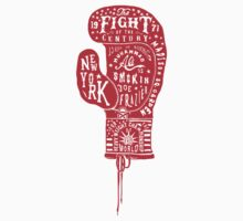 Boxing Glove Typography - the Fight of the Century by JamesShannon