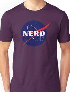 NASA Nerd Logo Parody Unisex T-Shirt