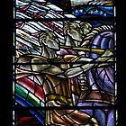New Arrival, glass by Douglas Strachan by wiggyofipswich