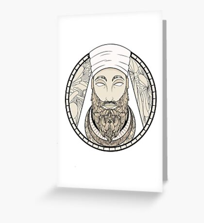 ZARATUSTRA  Greeting Card