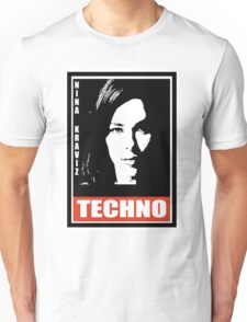 obey techno Unisex T-Shirt