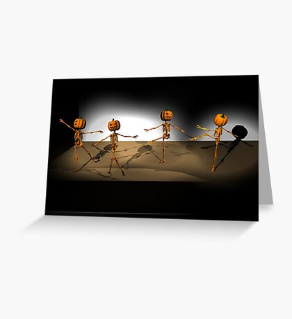 Halloween Ballet Greeting Card