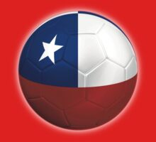 Chile - Chilean Flag - Football or Soccer 2 by graphix