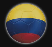 Columbia - Columbian Flag - Football or Soccer 2 by graphix