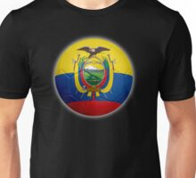 Ecuador - Ecuadorian Flag - Football or Soccer 2 Unisex T-Shirt