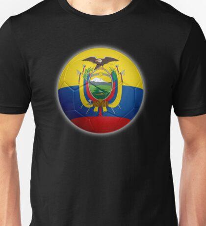 Ecuador - Ecuadorian Flag - Football or Soccer 2 Unisex T-Shirt