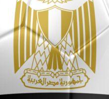 Egypt - Egyptian Flag - Football or Soccer 2 Sticker