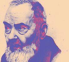 Padre Pio by catholicpopart