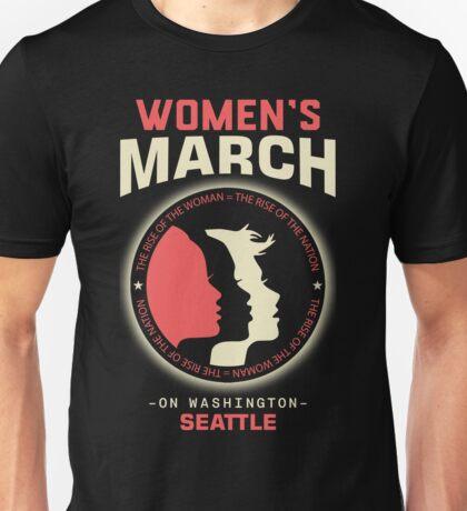 Women's March SEATTLE Unisex T-Shirt