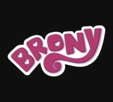 Brony Logo - Pink Kids Clothes