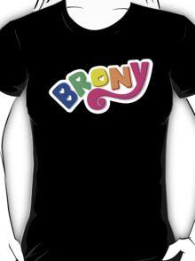 Brony Logo - Rainbow T-Shirt