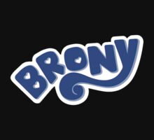 Brony Logo - Blue by graphix