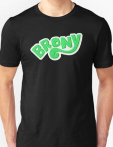 Brony Logo - Green T-Shirt