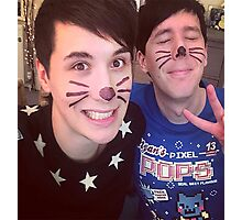 Dan & Phil (requested)  Photographic Print