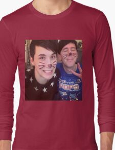 Dan & Phil (requested)  Long Sleeve T-Shirt