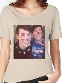Dan & Phil (requested)  Women's Relaxed Fit T-Shirt