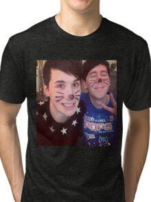 Dan & Phil (requested)  Tri-blend T-Shirt