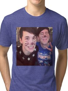 Dan & Phil (requested)  Tri-blend T-Shirt