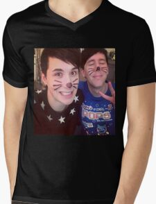 Dan & Phil (requested)  Mens V-Neck T-Shirt