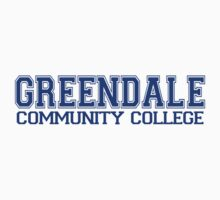 GREENDALE College Jersey (blue) Baby Tee