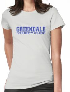 GREENDALE College Jersey (blue) Womens Fitted T-Shirt