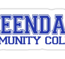 GREENDALE College Jersey (blue) Sticker