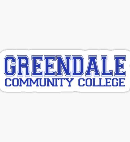 GREENDALE College Jersey (blue) Sticker