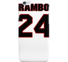 NFL Player Bacarri Rambo twentyfour 24 iPhone Case/Skin